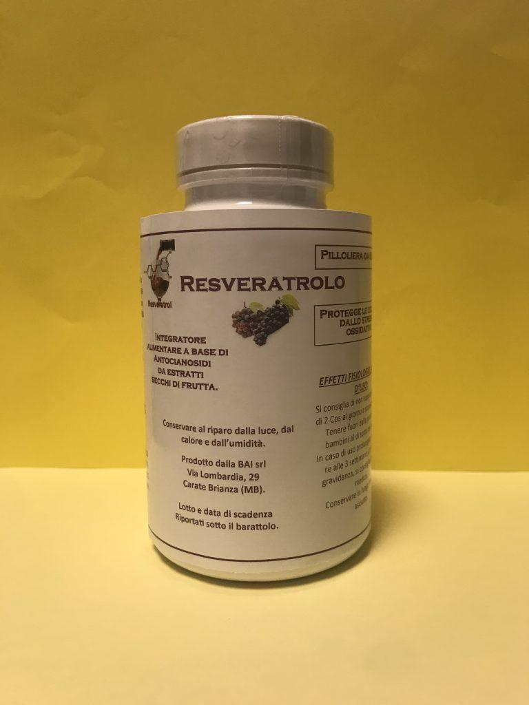 Resveratrolo ed antocianosidi