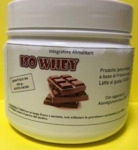 ISO WHEY Proteine isolate del siero del latte